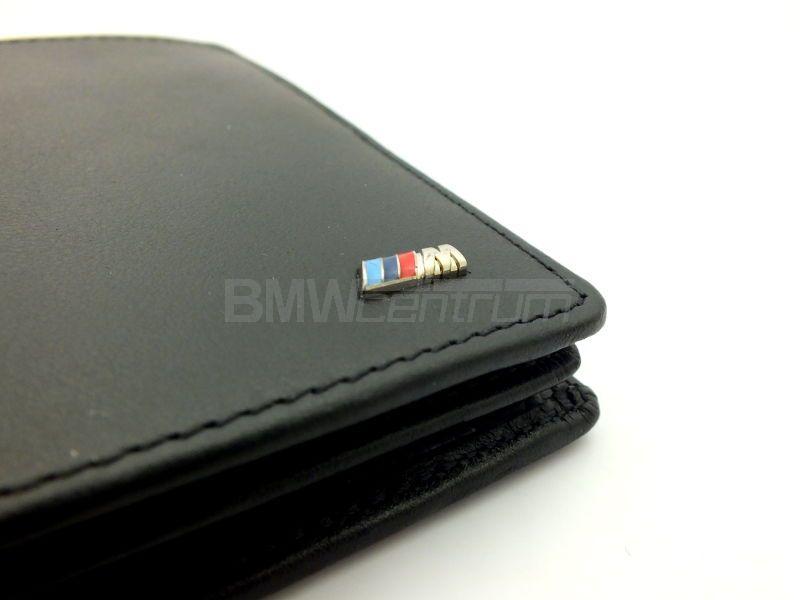dc6a5f065d021 Skórzany portfel męski BMW M Power z kieszonką na monety 2016 ...
