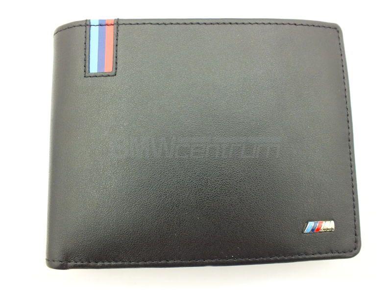 f83a0274e023d ... Skórzany portfel męski BMW M Power z kieszonką na monety 2016 ...