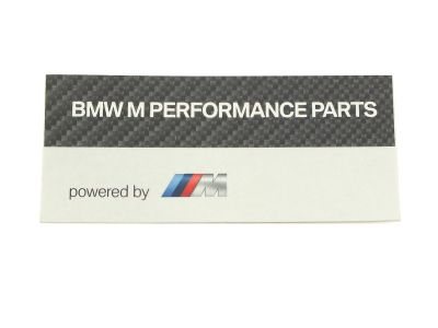 Naklejka BMW M Performance Parts
