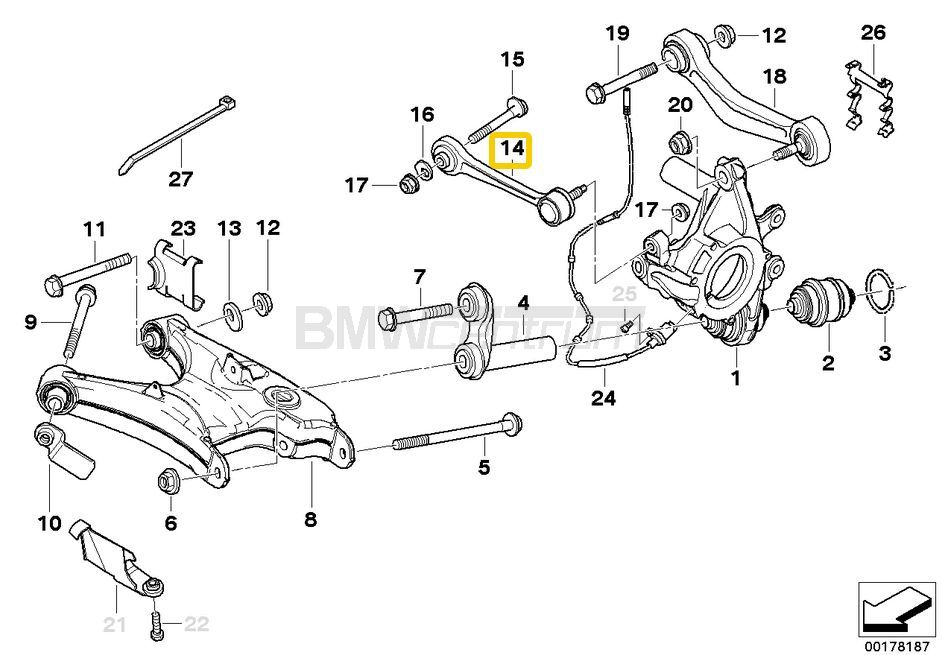 e60 rear suspension
