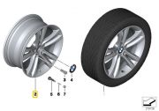 "Felga aluminiowa 18"" Wzór Styling Double Spoke 397 BMW F30 F31 F32 F33 F34 F36"