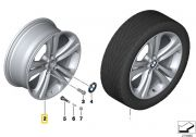 "Felga aluminiowa 19"" Wzór Styling Double Spoke 401 BMW F30 F31 F32 F33 F36"