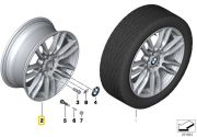 "Felga aluminiowa 19"" Wzór Styling Double Spoke 403 M Power BMW F30 F31 F32 F33 F36"