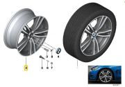 "Felga aluminiowa 19"" Wzór Styling Double Spoke 442 M Power BMW F30 F31 F32 F33 F36"