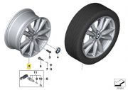 "Felga aluminiowa 18"" Wzór Styling Double Spoke 446 BMW X5 F15"