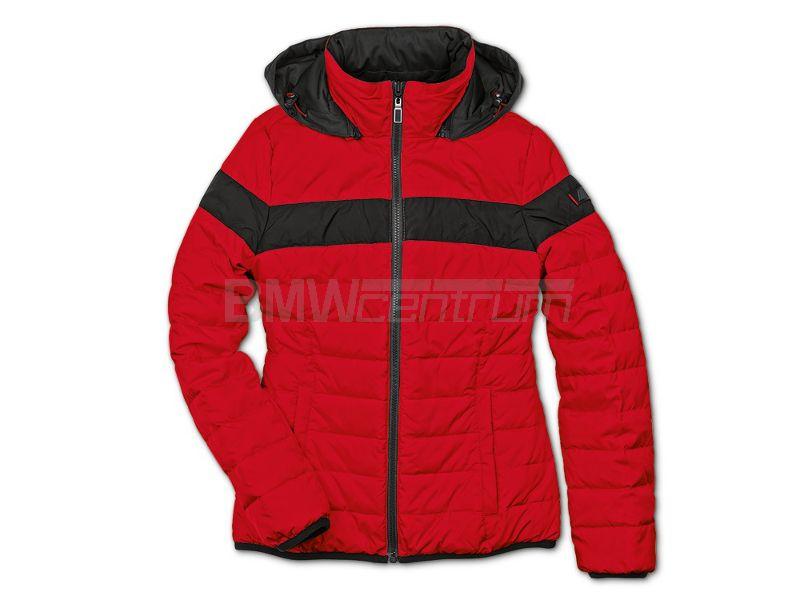2e824bfbaf4cf Dwustronna kurtka puchowa BMW M, damska, czarno czerwona, rozmiar M ...