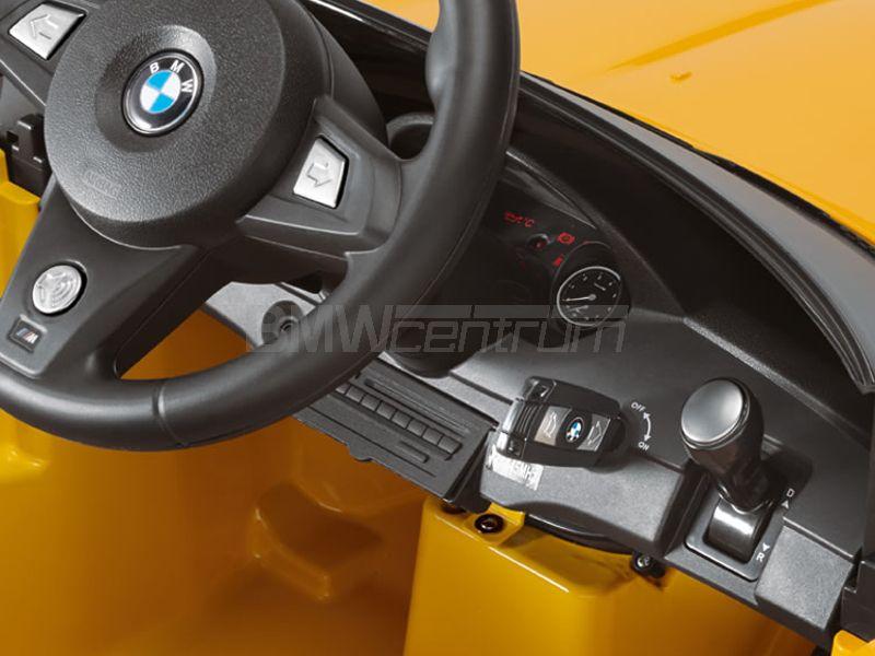 Samochód Dla Dzieci Bmw Z4 Rideon Wersja Elektryczna 6v żółty