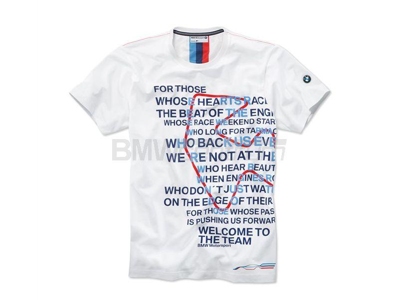 a3657ff24 Koszulka z nadrukiem BMW Motorsport, męska, biały, rozmiar XL ...